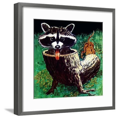 Keep Away - Child Life-Al Michini-Framed Art Print