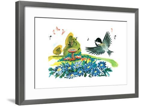 Chick-A-Dee-Dee-Dee - Jack & Jill-Florence McCurdy-Framed Art Print