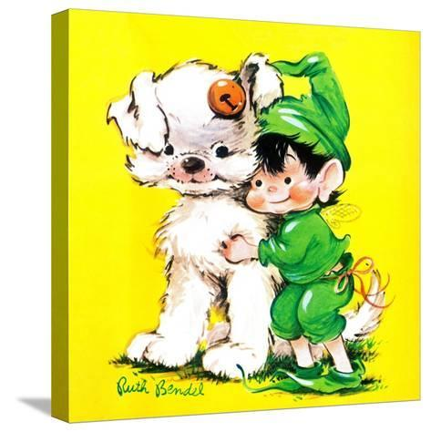 Lucky Bunny - Jack & Jill-George Lesnak-Stretched Canvas Print