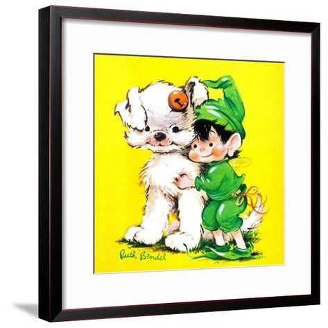 Lucky Bunny - Jack & Jill-George Lesnak-Framed Art Print