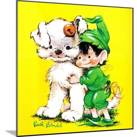 Lucky Bunny - Jack & Jill-George Lesnak-Mounted Giclee Print