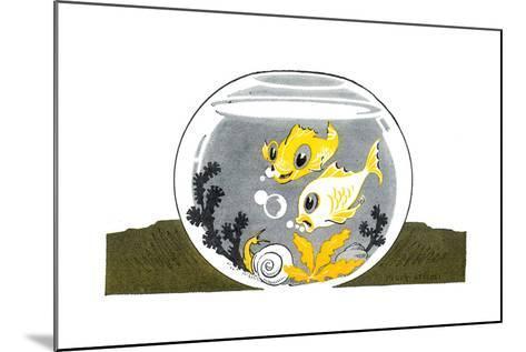 An Aquarium - Jack & Jill-Peggy Smithers-Mounted Giclee Print