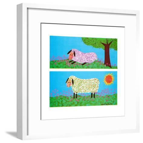 The Lamb - Jack & Jill-Madeline Gauron-Framed Art Print