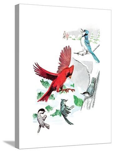 Gramps' Nature Tales - Jack & Jill-Bill Walsh-Stretched Canvas Print