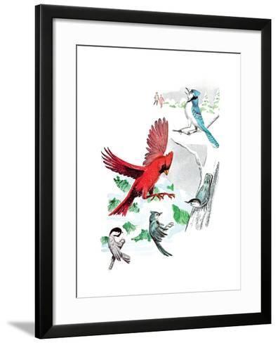 Gramps' Nature Tales - Jack & Jill-Bill Walsh-Framed Art Print