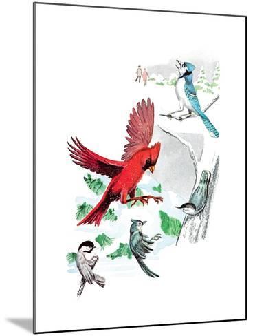 Gramps' Nature Tales - Jack & Jill-Bill Walsh-Mounted Giclee Print