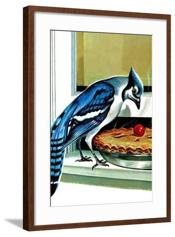 Food for Thought-Charles Ellis-Framed Art Print