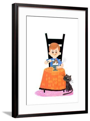 Good and Hot - Jack & Jill-Audrey Walters-Framed Art Print