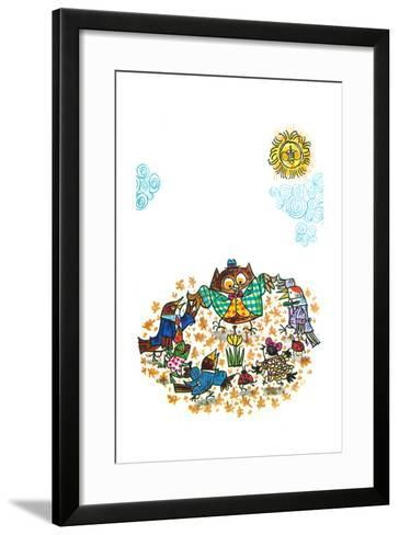 The Birds Told Me - Jack & Jill-Ed Emberley-Framed Art Print