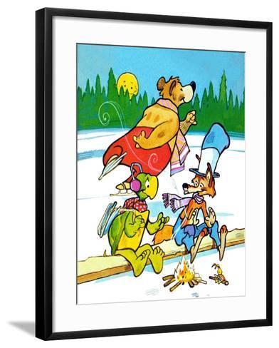 Creature Feature - Jack & Jill-Earl Handy-Framed Art Print