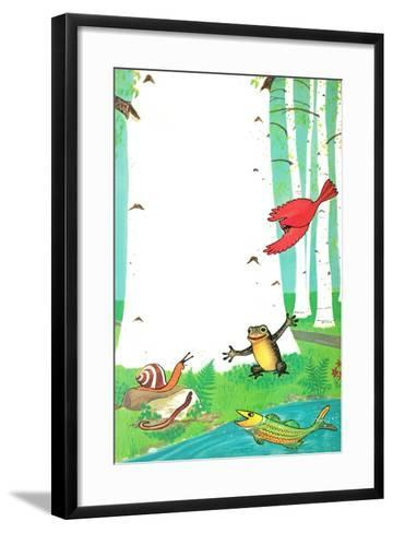Going on a Trip? - Jack & Jill-Dorothy Forsyth-Framed Art Print