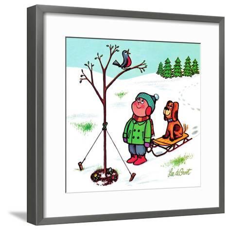 Quick'N Easy - Jack & Jill-Audrey Walters-Framed Art Print