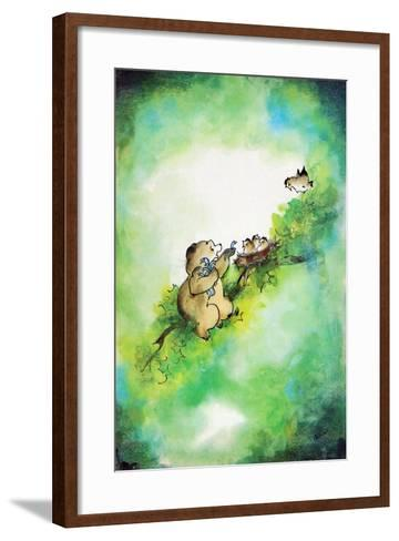 Bird-Brained - Jack & Jill-Edith Osborn Corbett-Framed Art Print