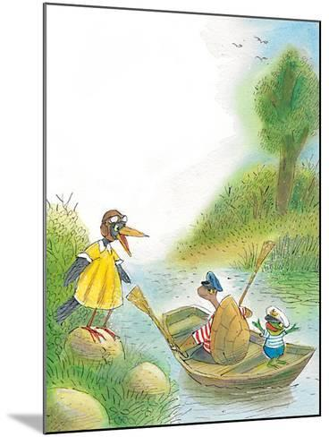 The Adventures of Ted, Ed, and Caroll - Turtle-Valeri Gorbachev-Mounted Giclee Print