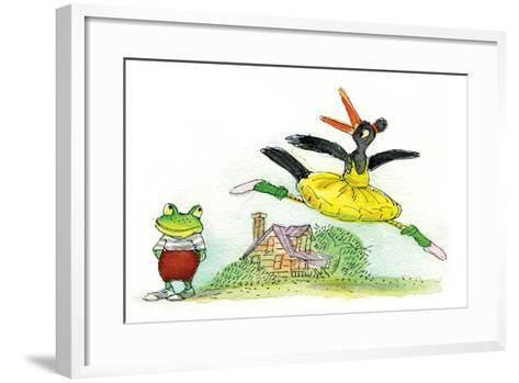 Ted, Ed and Caroll are Great Friends - Turtle-Valeri Gorbachev-Framed Art Print
