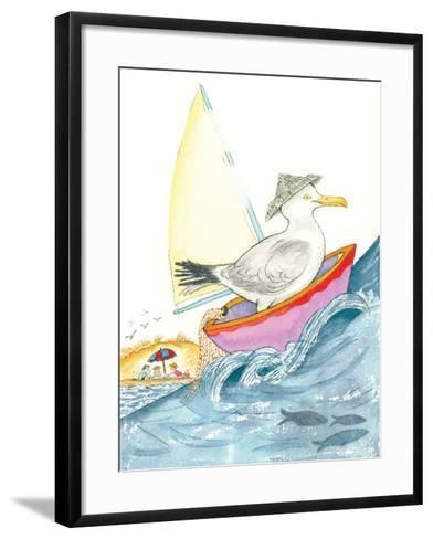 Sea Song - Playmate-Marsha Winborn-Framed Art Print