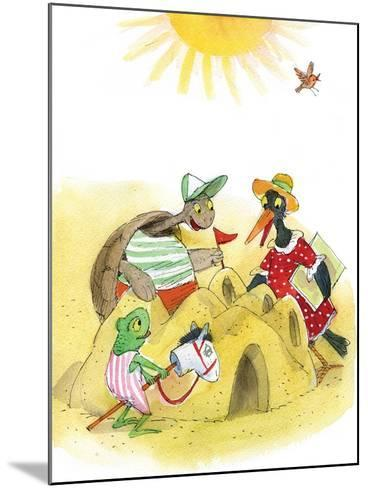 Ted, Ed and Caroll Happily Ever after 3 - Turtle-Valeri Gorbachev-Mounted Giclee Print