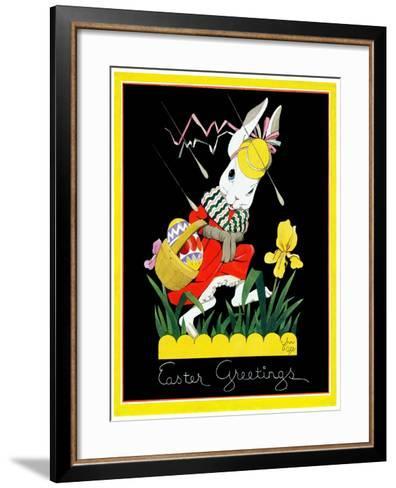 Easter Greetings - Child Life-John Gee-Framed Art Print