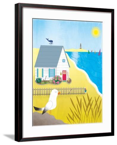 Little White House - Turtle-Sheree Boyd-Framed Art Print