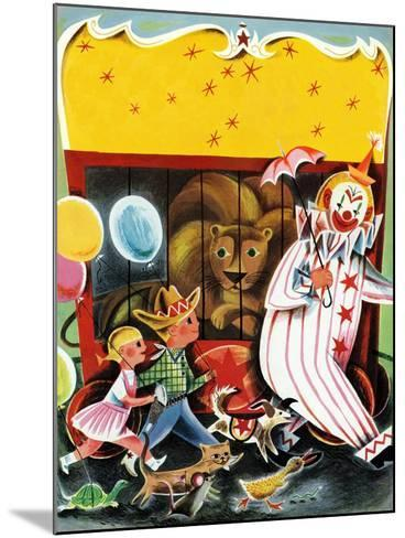 At the Circus - Child Life--Mounted Giclee Print