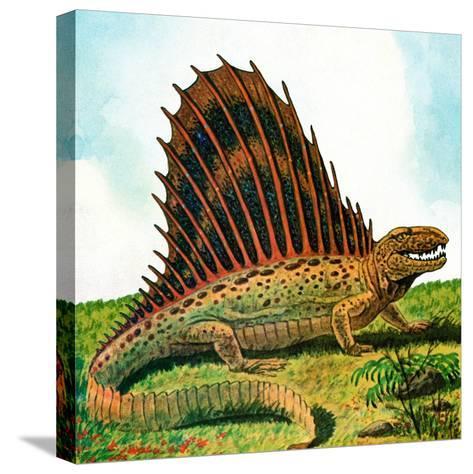 Dinosaurs - Jack & Jill-Edward F. Cortese-Stretched Canvas Print