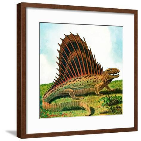Dinosaurs - Jack & Jill-Edward F. Cortese-Framed Art Print
