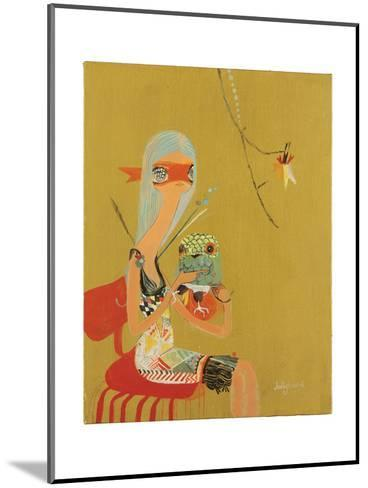 Oracle-Kelly Tunstall-Mounted Giclee Print