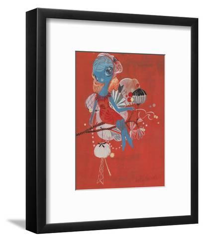Perched-Kelly Tunstall-Framed Art Print