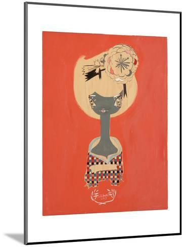 Plaid-Kelly Tunstall-Mounted Giclee Print