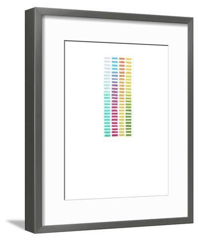 Formation of the Four Worlds-Trystan Bates-Framed Art Print