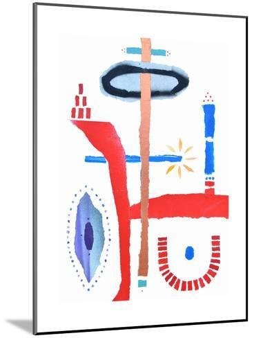 The Birth of Conciousness-Trystan Bates-Mounted Premium Giclee Print