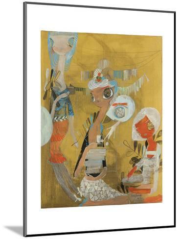 Adobe-Kelly Tunstall-Mounted Giclee Print