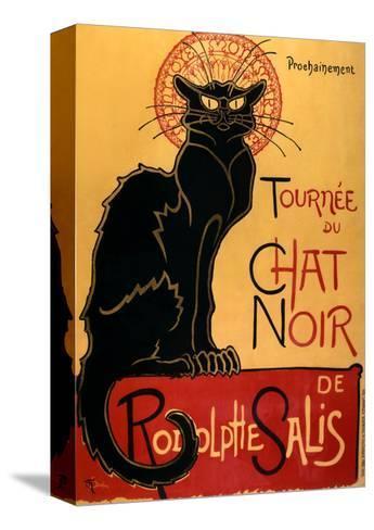 Tourn?e du Chat Noir, c.1896-Th?ophile Alexandre Steinlen-Stretched Canvas Print