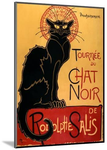 Tourn?e du Chat Noir, c.1896-Th?ophile Alexandre Steinlen-Mounted Art Print