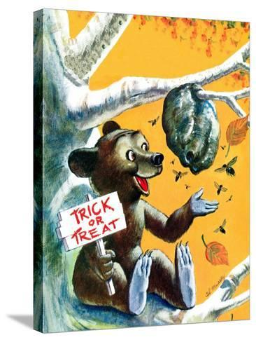 Trick or Treat - Jack & Jill-Cal Massey-Stretched Canvas Print