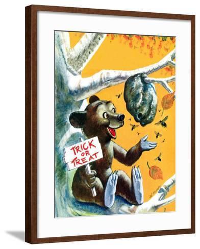 Trick or Treat - Jack & Jill-Cal Massey-Framed Art Print