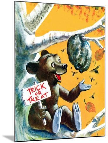 Trick or Treat - Jack & Jill-Cal Massey-Mounted Giclee Print