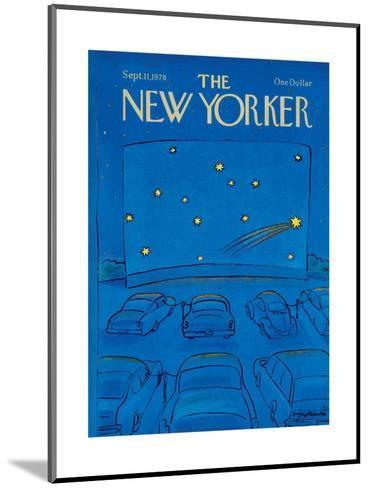 The New Yorker Cover - September 11, 1978-Eug?ne Mihaesco-Mounted Premium Giclee Print