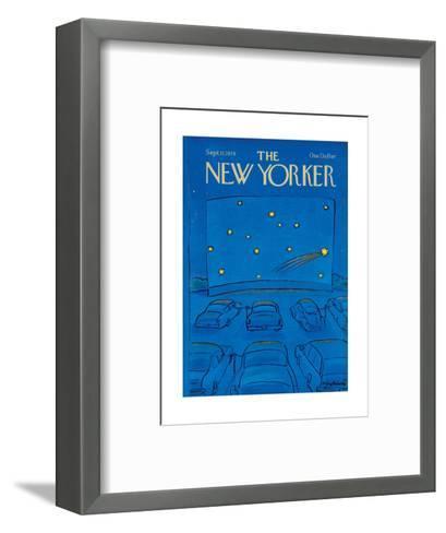 The New Yorker Cover - September 11, 1978-Eug?ne Mihaesco-Framed Art Print