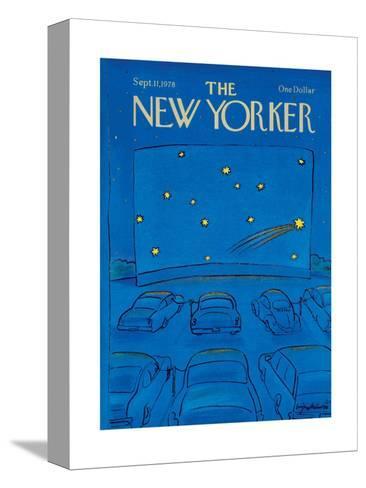 The New Yorker Cover - September 11, 1978-Eug?ne Mihaesco-Stretched Canvas Print