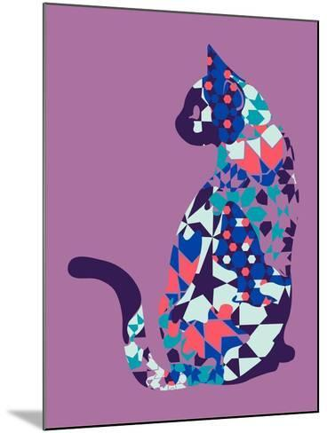Alleycat--Mounted Giclee Print