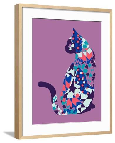 Alleycat--Framed Art Print