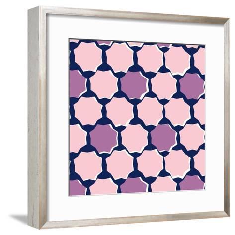Chiseled Star--Framed Art Print