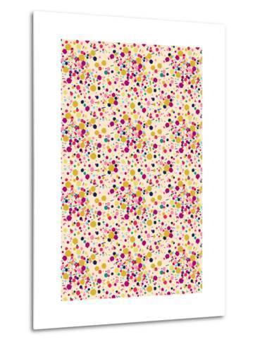 Confetti Tile--Metal Print