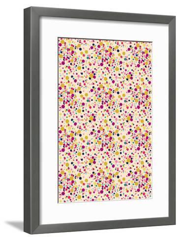 Confetti Tile--Framed Art Print