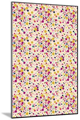 Confetti Tile--Mounted Giclee Print