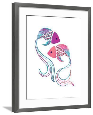 Petits Poissons--Framed Art Print