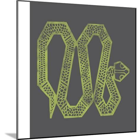 Year of the Snake--Mounted Giclee Print