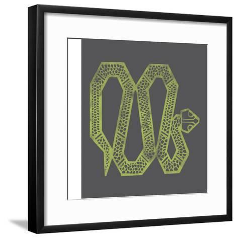 Year of the Snake--Framed Art Print