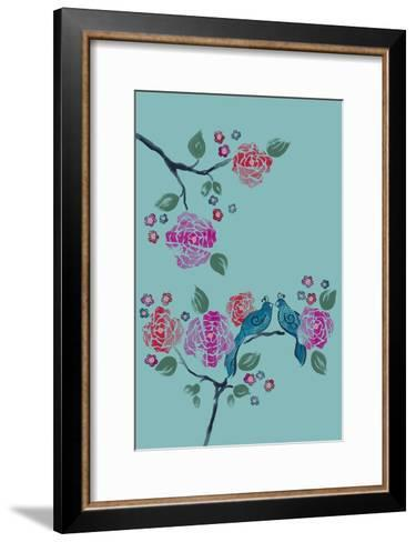 Love Birds--Framed Art Print